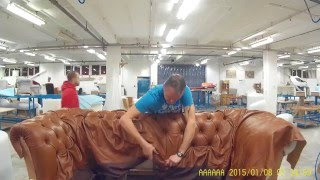 tufting a chesterfield sofa