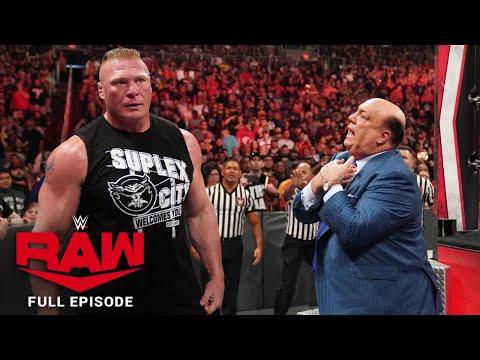 WWE Raw Full Episode, 30 September 2019