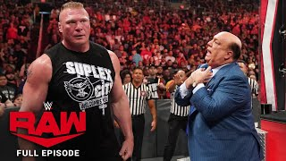 WWE Raw Full Episode, 30 September 2019