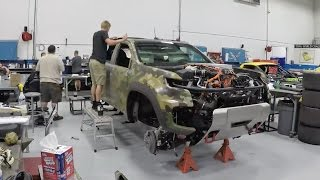 the chevrolet colorado zh2 fuel cell time lapse build