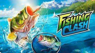 Fishing Clash: 3D симулятор реальной рыбалки Обзор игры Детское видео как Мультик
