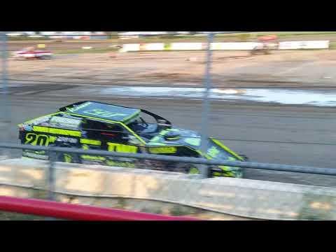 Aj Ward Racing 8/3/18@I-96 Speedway heat race