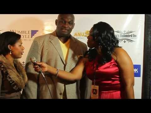 Behind The Mic  at The Legendary Awards  Tommy Ford and Dominique Wilkinsavi