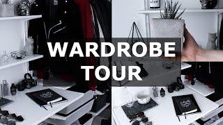 wardrobe tour   minimal homeware inspiration   gallucks