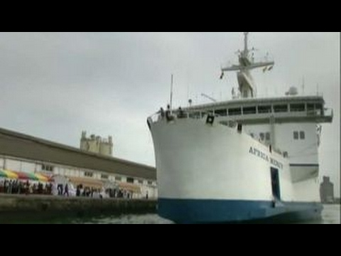Mercy ships bringing health care to countries in need