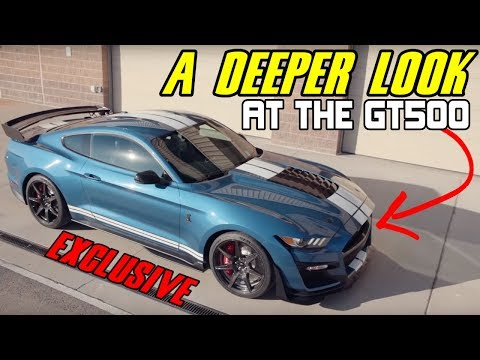 Shelby GT Mustang | EXCLUSIVE CLOSER LOOK  | Detroit Auto Show