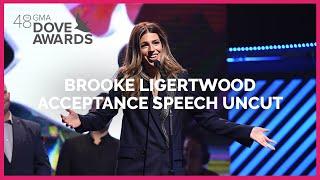 Brooke Ligertwood Acceptance Speech Uncut