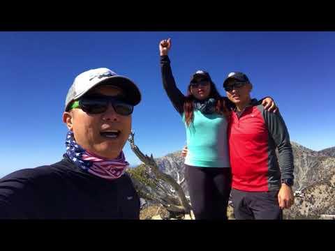 Timber Mountain, Telegraph Peak & Thunder Mountain via Icehouse Canyon trail
