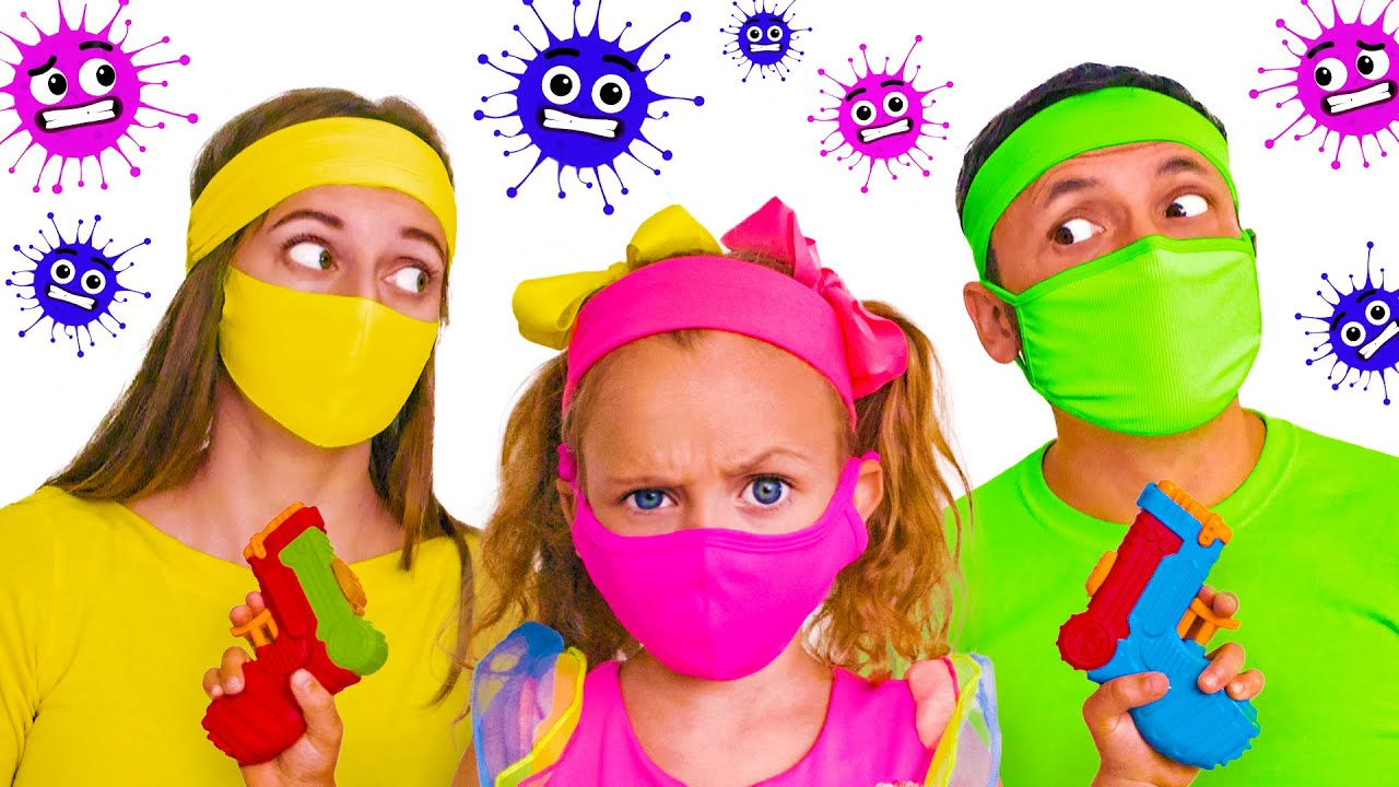 Microbe - Song for Kids | Kids Song by Maya and Mary
