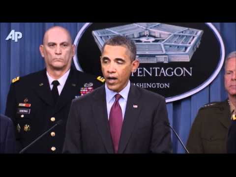 Obama Unveils New Strategy For Smaller Military