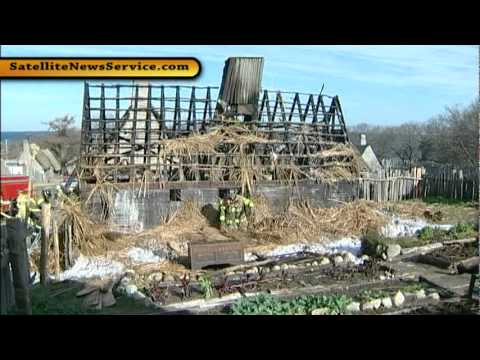 Fire Destroys Structure At Plimoth Plantation Plymouth
