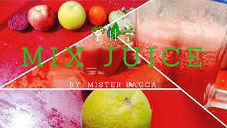 MIXED FRUIT JUICE | MIX JUICE | HEALTHY JUICE | STREET FOOD |  WEIGHT LOSS JUICE ||MISTER BAGGA | MB
