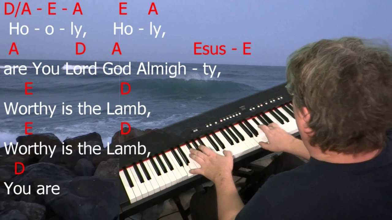 Learn To Play Agnus Dei By Michael W Smith Key A Major Youtube