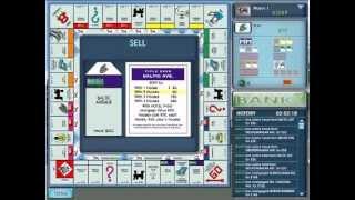 Monopoly Deluxe Gameplay (PC)