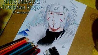Speed Drawing - Tobirama Senju (Naruto/Challenger família DYP) - Ingrid Oliveira