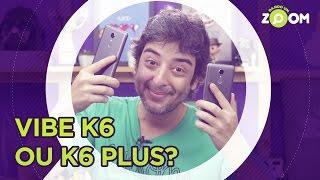 Lenovo Vibe K6 Plus vs Vibe K6 - COMPARATIVO   DANDO UM ZOOM #51