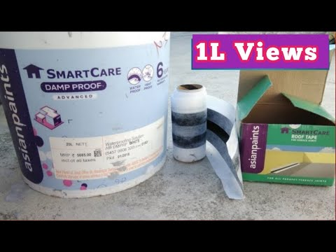 Smartcare Damp Proof And Roof Tape Application | Tamil Painter Mobile No:+919585045131