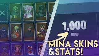 SHOWS ALL MY SKINS, STATS & SETTINGS!! -FORTNITE IN ENGLISH!