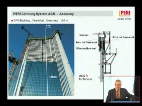 "CTBUH 2010 Mumbai Conference - Juergen Gnida, ""Formworks for High-Rise Construction"""