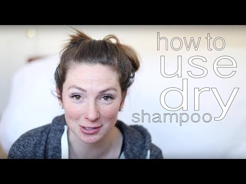 HOW TO USE DRY SHAMPOO || DAY 6 BEFORE AND AFTER