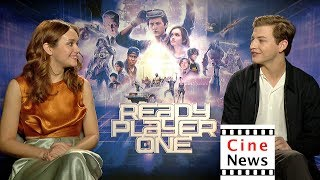 Ready Player One – Interview: Olivia Cooke & Tye Sheridan