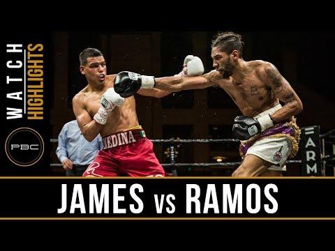 James vs Ramos HIGHLIGHTS: PBC on FS1 - April 13, 2018