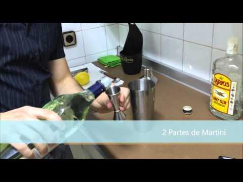 Como preparar un Dry Martini