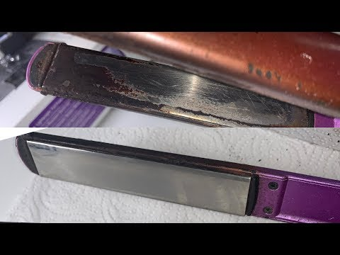 DIY :How to clean your flat iron or hot tool