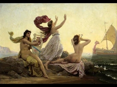 "The Ancient Greek Kithara of Classical Antiquity - ""Odysseus and the Sirens"""