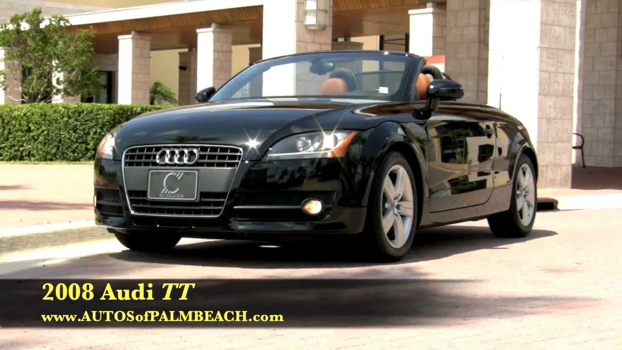 2008 Audi Tt Roadster Convertible A2691 Youtube