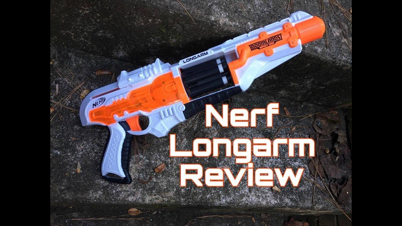 Honest Review The Nerf Longarm Revolver Doomlands