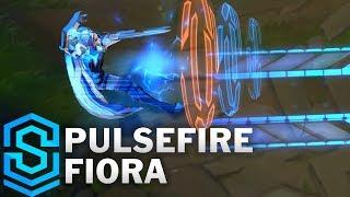 Pulsefire Fiora Skin Spotlight - League of Legends