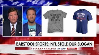 Barstool Sports Sues NFL Over 'Saturdays Are For The Boys' Trademark