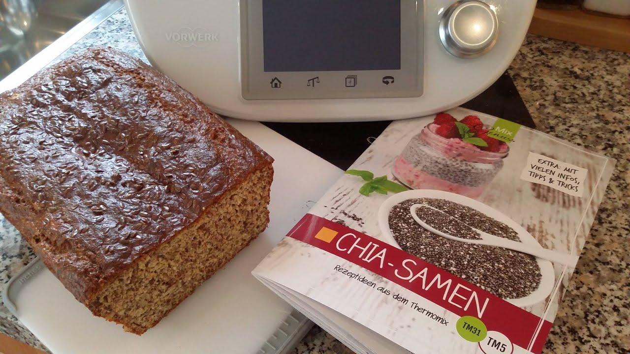 Thermomix Tm 5 Chia Quark Brot Low Carb Glutenfrei Von