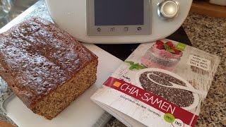 Thermomix® TM 5® Chia Quark Brot (low carb & glutenfrei) von Mixgenuss de