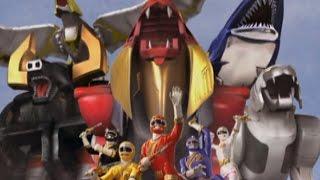 "Power Rangers Wild Force - Wild Zords First Battle | Episode 1 ""Lionheart"""