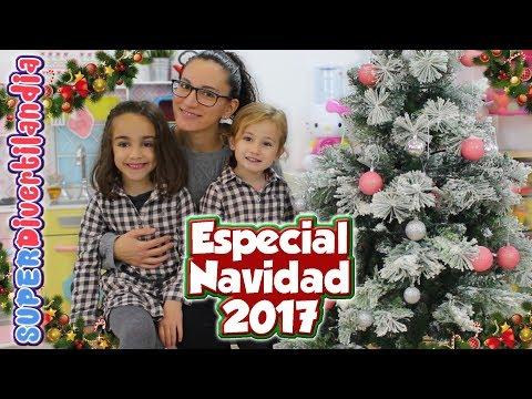 Navidad 2017 en SUPERDivertilandia con Andrea, Irene y Raquel!