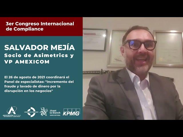 Salvador Mejía te invita al 3er Congreso AMEXICOM