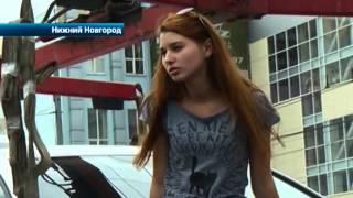 Дамы из Нижнего Новгорода устроили каскадерское шоу на автомобиле