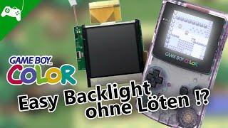 Easy Gameboy Color BackĮight einbau, ohne Löten! - Tutorial