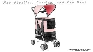 All-in-One Pet Stroller, Carrier, and Car Seat