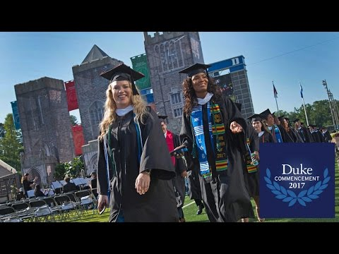 Duke University Commencement Ceremony 2017