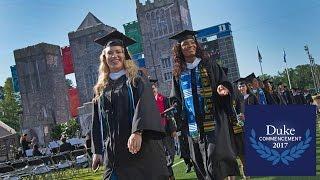 Duke University Commencement Ceremony 2017