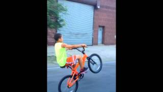 13 year old ryder sick wheelies