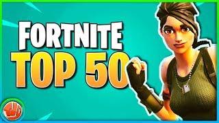 Top 50 GRAPPIGSTE Fortnite Momenten!! (Season 1-2 Editie)