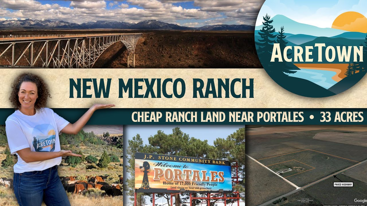 Cheap New Mexico Land for Sale | 33 acres | Unrestricted | Near One of America's Best Small Cities