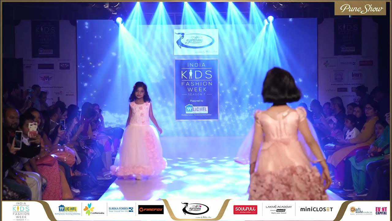 Girl Boss at India Kids Fashion Week - Pune