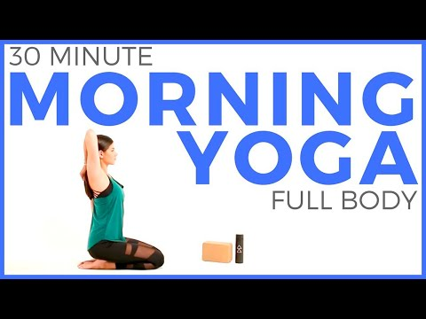30 minute Full Body Morning Yoga Stretch | Sarah Beth Yoga