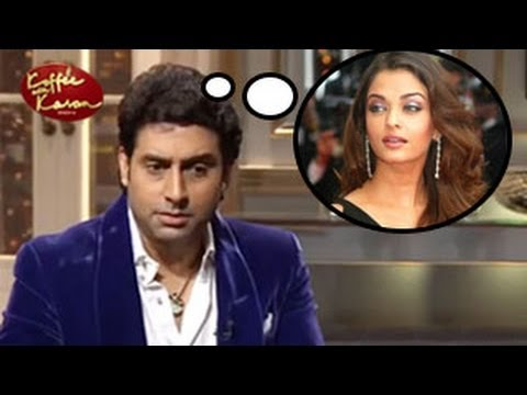 Abhishek Bachchan REVEALS his INSECURITIES for Aishwarya Rai Koffee with Karan 16th February EPISODE