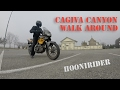 Cagiva Canyon 500 Walk Around And Sound   Gopro Hero 3+